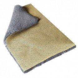 Collar Piedras Turquesa Oro 45cm