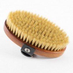 Cepillo Ibáñez oval de cerdas naturales