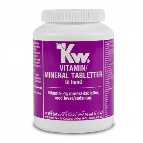 Multivitaminas y Minerales Kw