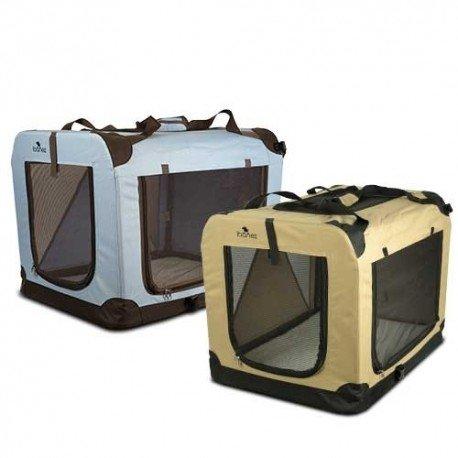 Jaulas plegables de loneta - Viajar con perro o gato