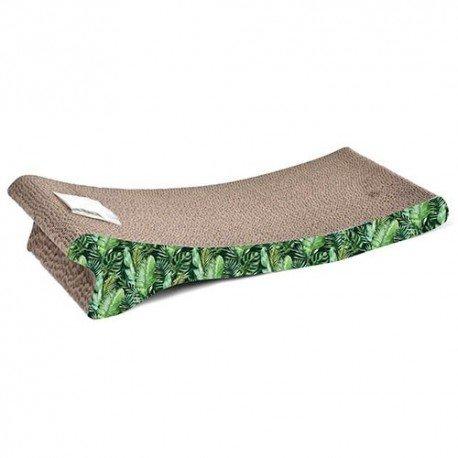 Rascador de cartón Jungla Verde