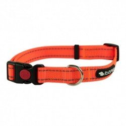 Collar reflectante huellas rojo - Rosewood