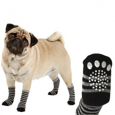 Calcetines para Mascotas de Rayas