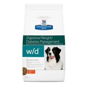 Hills Diet Canine w/d Digestive con pollo